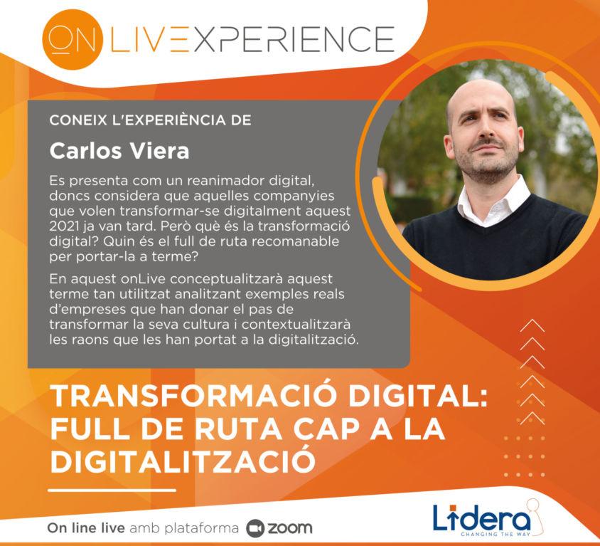 Transformació digital: full de ruta cap a la digitalització.